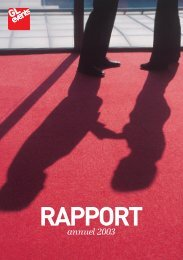 Rapport annuel 2003 - GL events