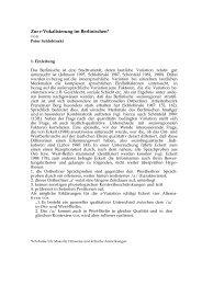 Zur r-Vokalisierung im Berlinischen