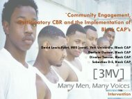 Community Engagement, Participatory CBR and the Implementation ...
