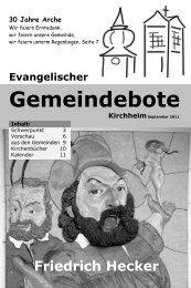 September 2011 - Gemeindebote