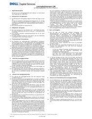 Leasingbedingungen (LB) - GE Capital Deutschland