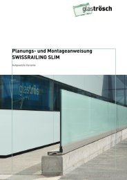 Planungs- und Montageanweisung SWISSRAILING SLIM