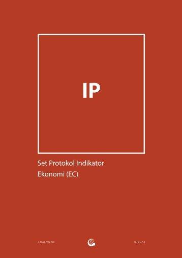 Set Protokol Indikator Ekonomi (EC) - Global Reporting Initiative