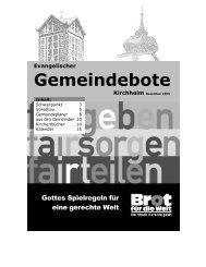 Dezember 2005 - Gemeindebote