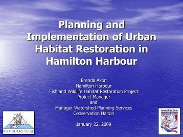 Planning and Implementation of Urban Habitat Restoration in ...
