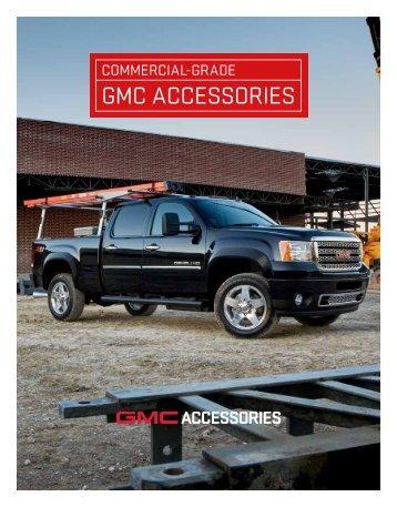 GMC Commercial Accessories Brochure (PDF) - GM Fleet