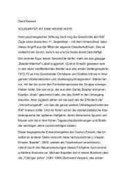 Gerd Koenen SOLIDARITÄT IST EINE HEISSE KISTE Ihrer ...