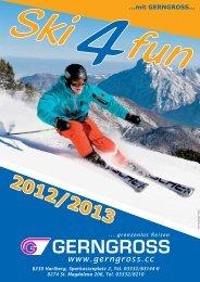 Skifahren 2012/2013