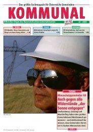 Die komplette Ausgabe 10/2008 der Fachzeitschrift KOMMUNAL