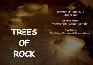 Saturday 16 April 2011 11am to 3pm At Fossil Grove, Victoria Park ...
