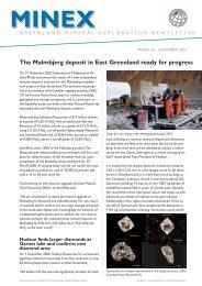 Greenland Minex News no. 28, December 2005 - Geus