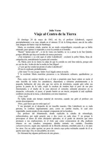 Viaje al Centro de la Tierra - Roberto Tenorio