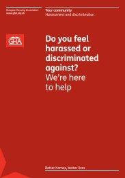 Harassment and Discrimination - Glasgow Housing Association