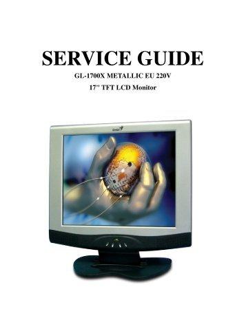 GL-1700X Service Manual.pdf - Genius