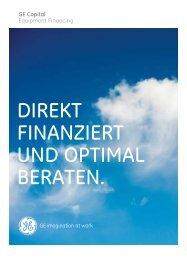 Broschüre ansehen - GE Capital Deutschland