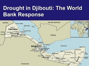 Drought in Djibouti: The World Bank Response - GFDRR