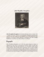 John Theophilus Desaguliers - Grand Lodge Bet-El