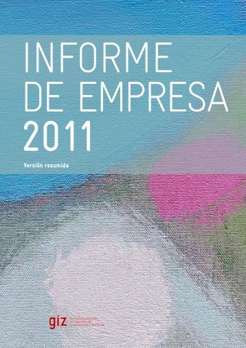 G I Z Informe de empresa 2011, Versión resumida