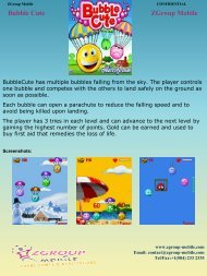 Bubble Cute ZGroup Mobile - Get Mobile game