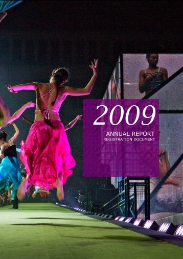 GL EVENTS 2009 ANNUAL REPORT