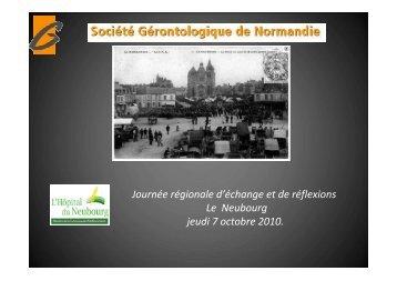 Géronto-technologie - Geronto-Normandie