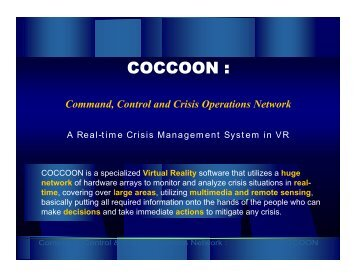 Command, Control and Crisis Operations Network A Real-time ...