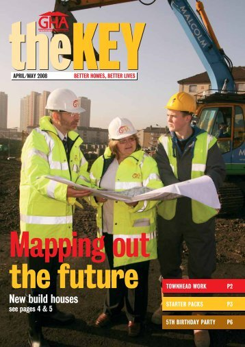 The Key, April May 2008 - Glasgow Housing Association