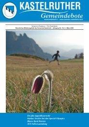 Kastelruther Gemeindebote - Ausgabe März 2008 (3,7 Mb) (0 bytes)