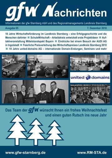 10 Jahre united-domains AG - GFW Starnberg mbH