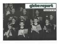 Glebe Report - Volume 31 Number 11 - November 30 2001