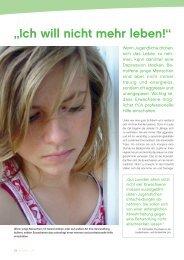 Depressionen bei Jugendlichen - gesund-in-ooe.at