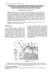 calcareous nannofossils, foraminifers