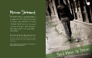 Acknowledgments - Salvation Army