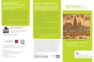 Flyer zur Vortragsreihe - Historisches Seminar - Johannes ...