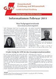 fg info 2-11.pdf - Gewerkschaft Erziehung und Wissenschaft