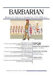 ROMA VS. GALOS Y SAMNITAS, 315-200 - GMT Games