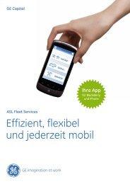 Effizient, flexibel und jederzeit mobil - GE Capital Deutschland