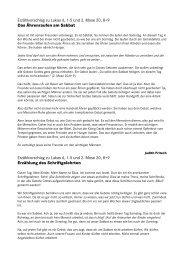 Lukas 6, 1-5, Sabbat - GJW