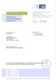 GIMA LPS Polytherm Laibungsplatte nach allgemeiner ...
