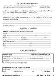 Domanda di autorizzazione edilizia - Allegato d (090107A)
