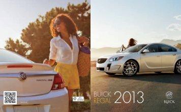 BUICK REGAL 2013 - GM Canada