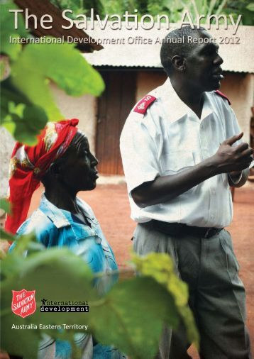 International Development Annual Report 2012 - Salvation Army