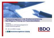 Due Diligence Prü fung - Gesundheitsforen Leipzig GmbH