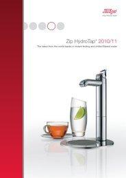 Zip HydroTap® 2010/11 - Zip Industries