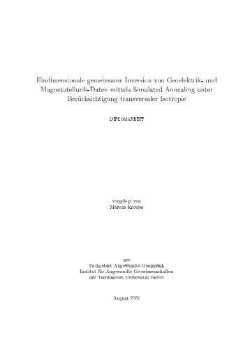 Richtlinien Bachelorarbeiten Fachgebiet Angewandte Biochemie