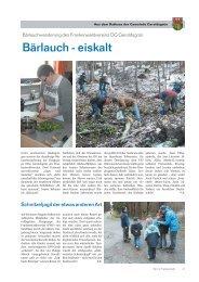 Wir im Frankenwald 19/2013 - Teil 2 - Gemeinde Geroldsgrün