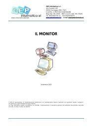 Il monitor SET - GEP Informatica Srl