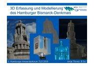 3D-Erfassung und Modellierung des Hamburger Bismarck ...