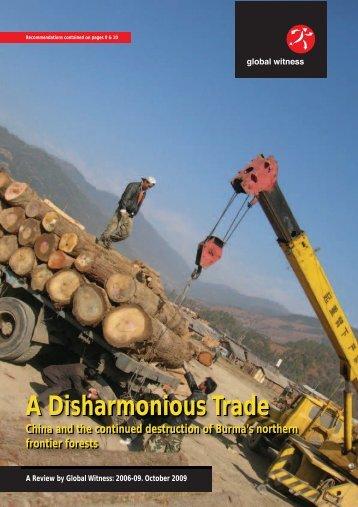 A Disharmonious Trade A Disharmonious Trade - Global Witness