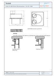 Technik Cobra Wand-Deckenauslässe DN75 - GLT Austria